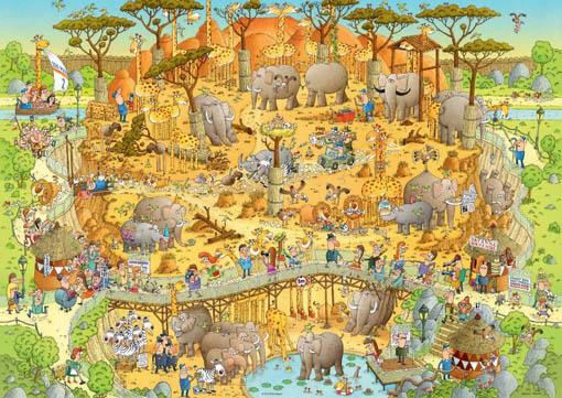 Funky zoo Heye