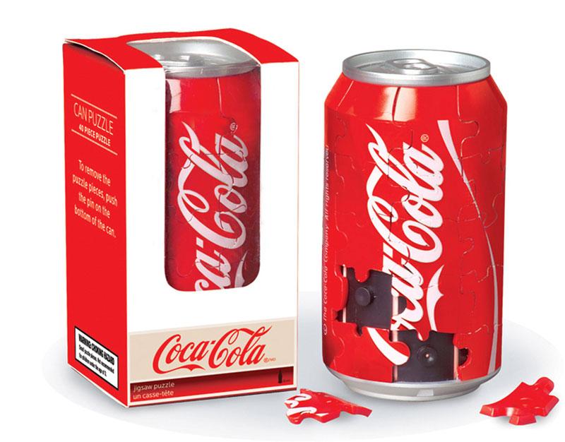 puzzle puszka Coca-Cola