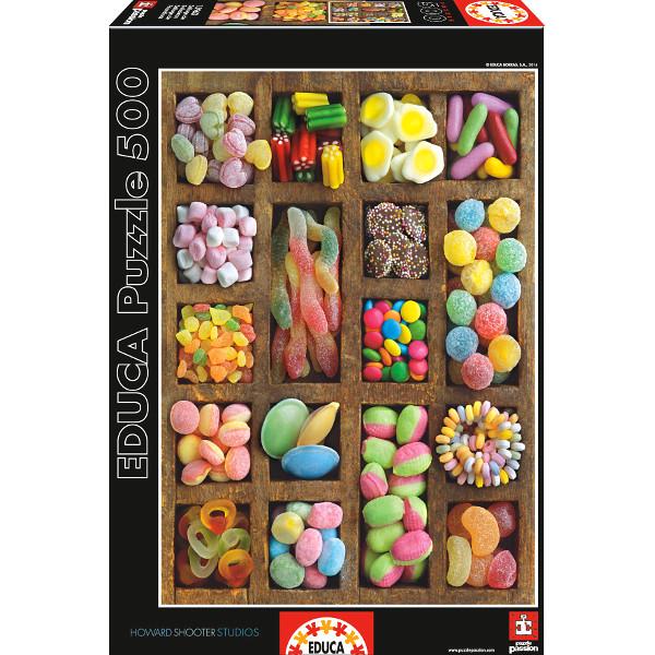 kolorwe cukierki