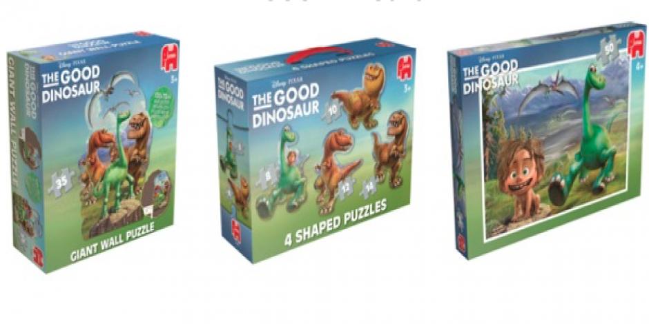 puzzle Jumbo dobry dinozaur