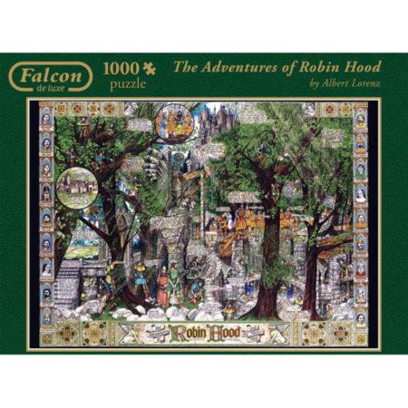 puzzle Robin Hood Art Puzzle