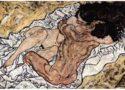 Kochankowie - Schiele